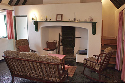 The open hearth at the heart of your cottage - Click to Enlarge!