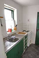 The galley kitchen (compact and fully equipped) - Click to Enlarge!