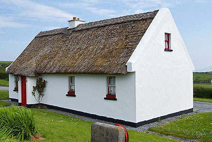 A traditional Irish cottage in Tullycross, Renvyle  - Click to Enlarge!